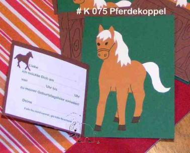 Einladung Kindergeburtstag Pferd Vorlagen